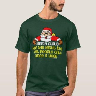 Social Santa Claus T-Shirt