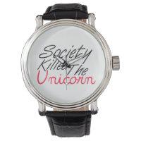 Society Killed The Unicorn Wristwatch
