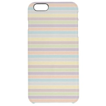 Soft Rainbow Clear iPhone 6 Plus Case