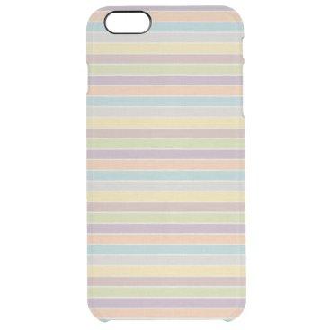 Soft Rainbow Clear iPhone 6 Plus Case