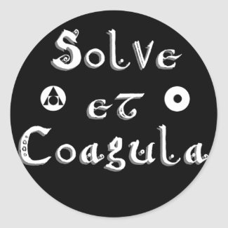 Solve et Coagula ~ Alchemy - Sticker sticker