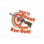 Soot Eye Out Postcard