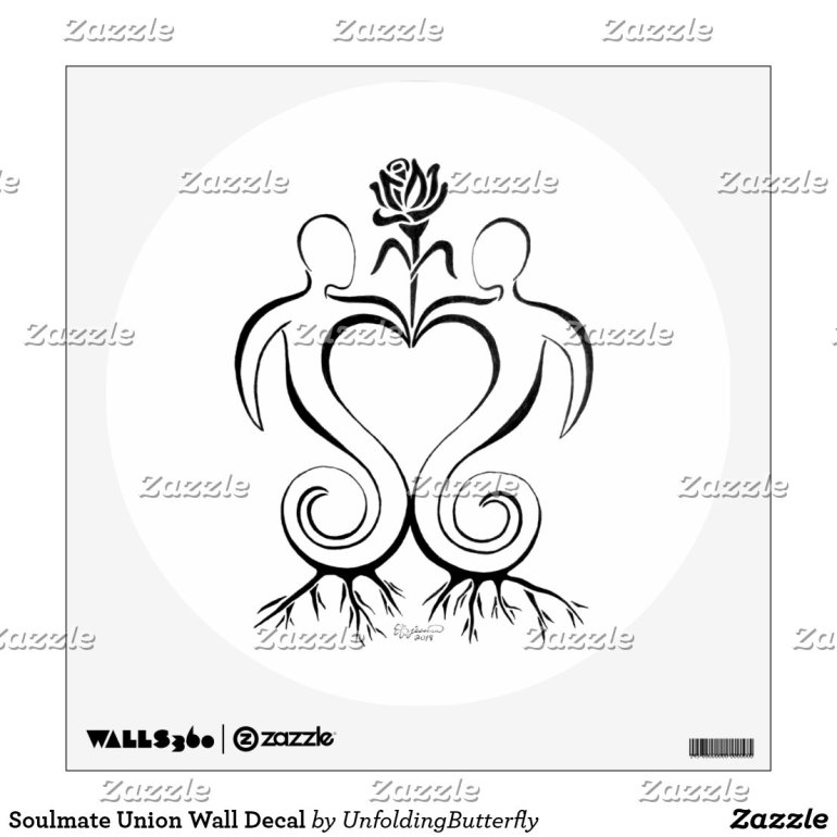 Soulmate Union Wall Decal