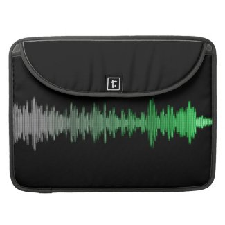 Sound Wave Sleeves For MacBook Pro