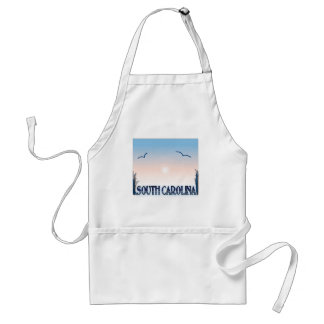 South Carolina Airbrush Sunset Apron