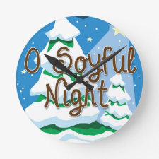 Soy holiday Wall clocks
