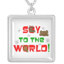 Soy to the World Necklace