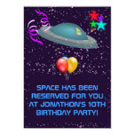❤️ Funny Space Has Been Reserved For You Birthday Party Invitation