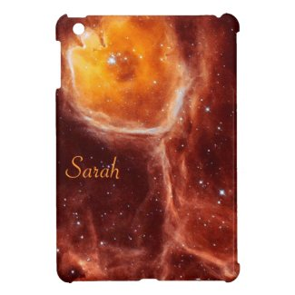 Space Flower iPad mini Case *Personalize*