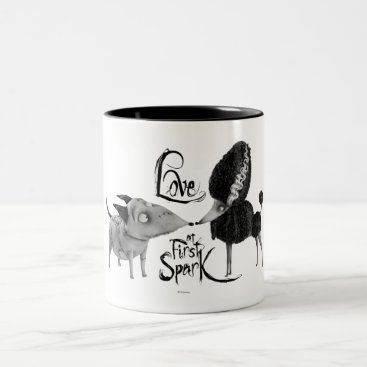 Sparky and Persephone: Love at First Spark Two-Tone Coffee Mug