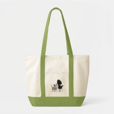 Sparky and Persephone Tote Bag