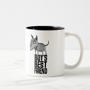 Sparky: Boy's Best Friend Two-Tone Coffee Mug