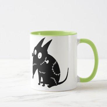 Sparky Sitting Silhouette Mug