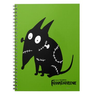 Sparky Sitting Silhouette Notebook