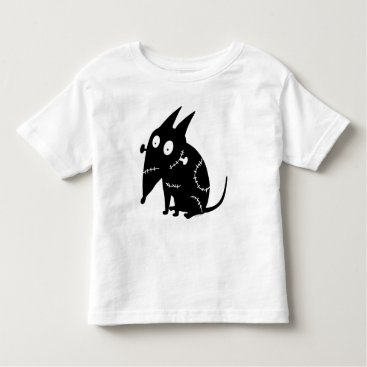 Sparky Sitting Silhouette Toddler T-shirt