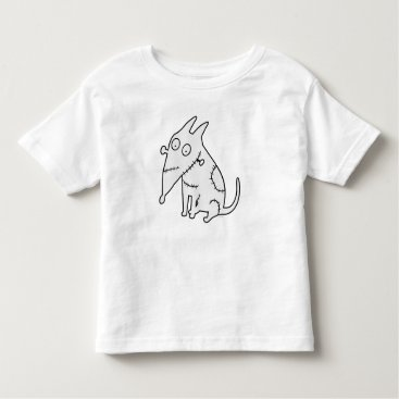 Sparky Sitting Toddler T-shirt