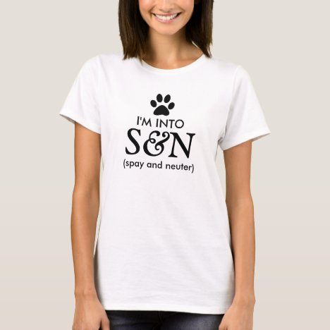 Spay and Neuter Pets T-Shirt