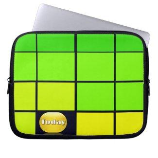 Spectrum Colorful 9 Zippered Soft Laptop iPad Case Laptop Computer Sleeve