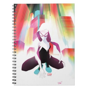 Spider-Gwen Neon City Notebook