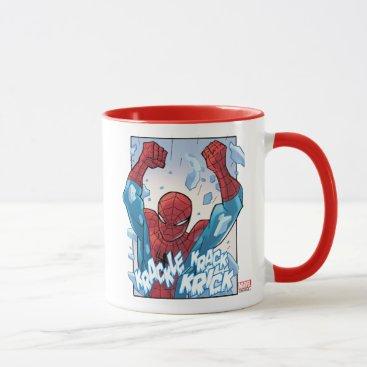 Spider-Man Breaking Glass Mug
