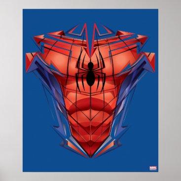 Spider-Man | Chest Graphic Poster