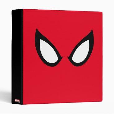 Spider-Man Eyes Binder