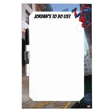 Spider-Man | Hanging Upside-Down From Web Dry Erase Board