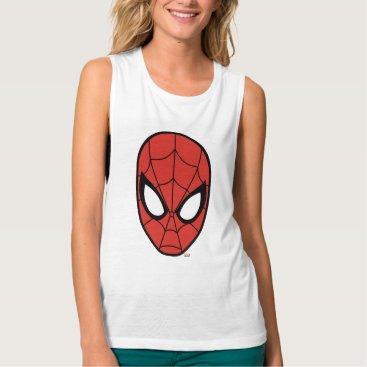 Spider-Man Head Icon Tank Top