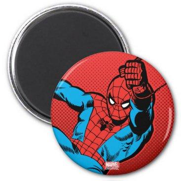 Spider-Man Retro Swinging Kick Magnet