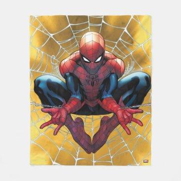 Spider-Man | Sitting In A Web Fleece Blanket