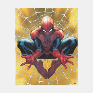 Spider-Man | Sitting In A Web Fleece Blanket