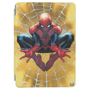 Spider-Man   Sitting In A Web iPad Air Cover