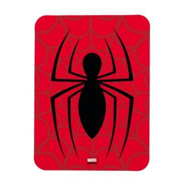 Spider-Man Skinny Spider Logo Magnet