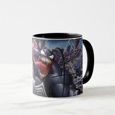 Spider-Man   Venom Leaping Forward Mug