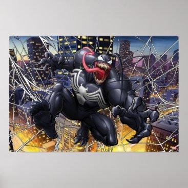 Spider-Man | Venom Leaping Forward Poster