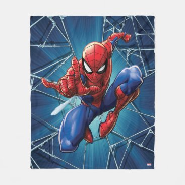 Spider-Man | Web-Shooting Leap Fleece Blanket