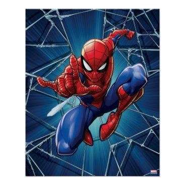 Spider-Man | Web-Shooting Leap Poster