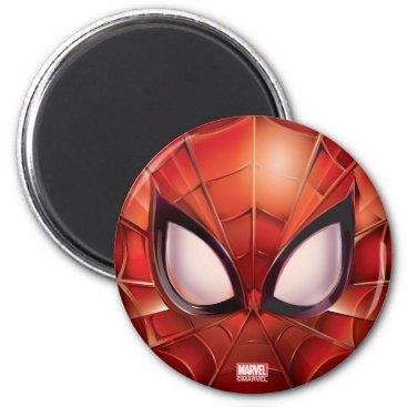 Spider-Man Webbed Mask Magnet
