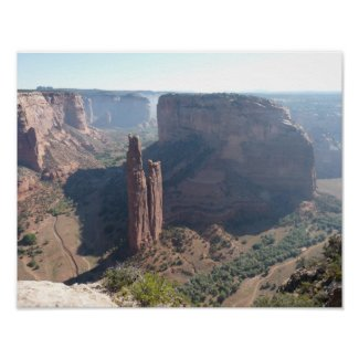Spider Rock, Canyon de Chelly print