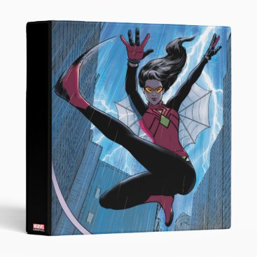 Spider-Woman Getting The Drop On Villain Binder