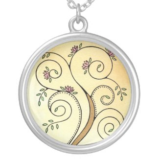 Spiral Tree Necklace necklace