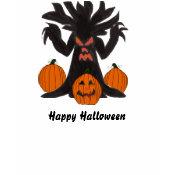 Spooky Tree long sleeve tshirt shirt