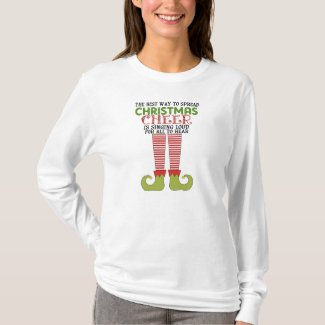 Spread Christmas Cheer Elf Shirt