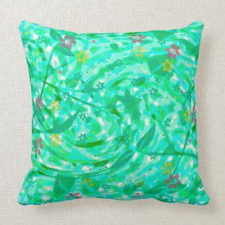 Spring Breeze American MoJo Pillow mojo_throwpillow