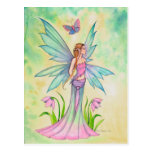Spring Butterfly Fairy Fantasy Art Postcard