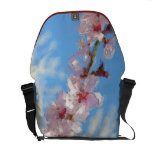 Spring Cherry Blossom watercolor bags messenger bags