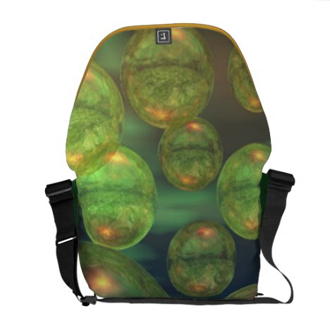 Spring Creation – Green & Gold Renewal Messenger Bag