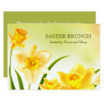 ❤️ Spring Daffodils Custom Easter Brunch Invitations
