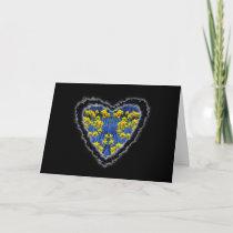 Spring Heart Valentine Love Romance Card