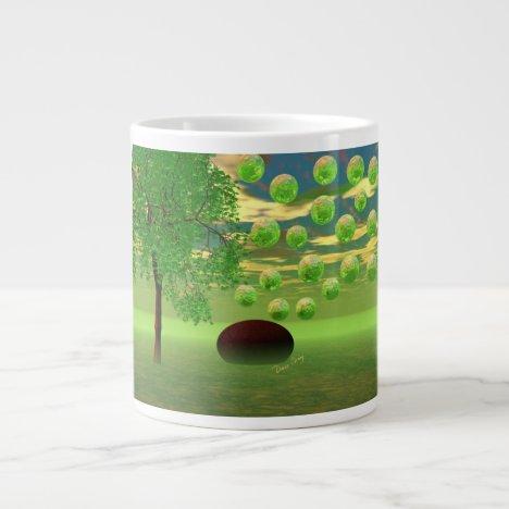 Spring Renewal – Lemon & Lime Life Force Large Coffee Mug